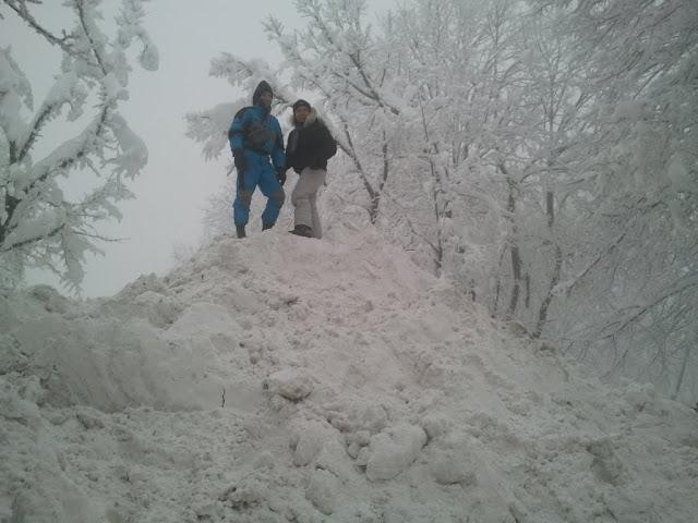 Mirko e Ivan sulla neve