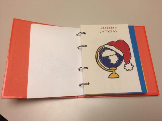 Consegnato il primo diario scolastico per alunni non vedenti