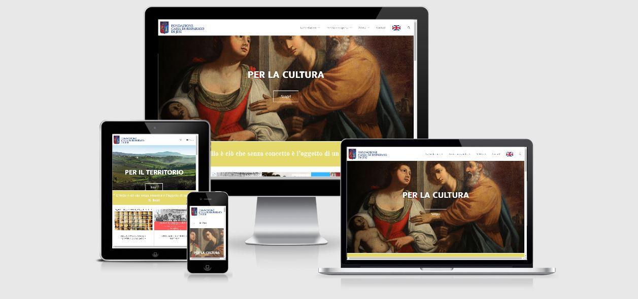 Ecco il nuovo sito della Fondazione CRJ