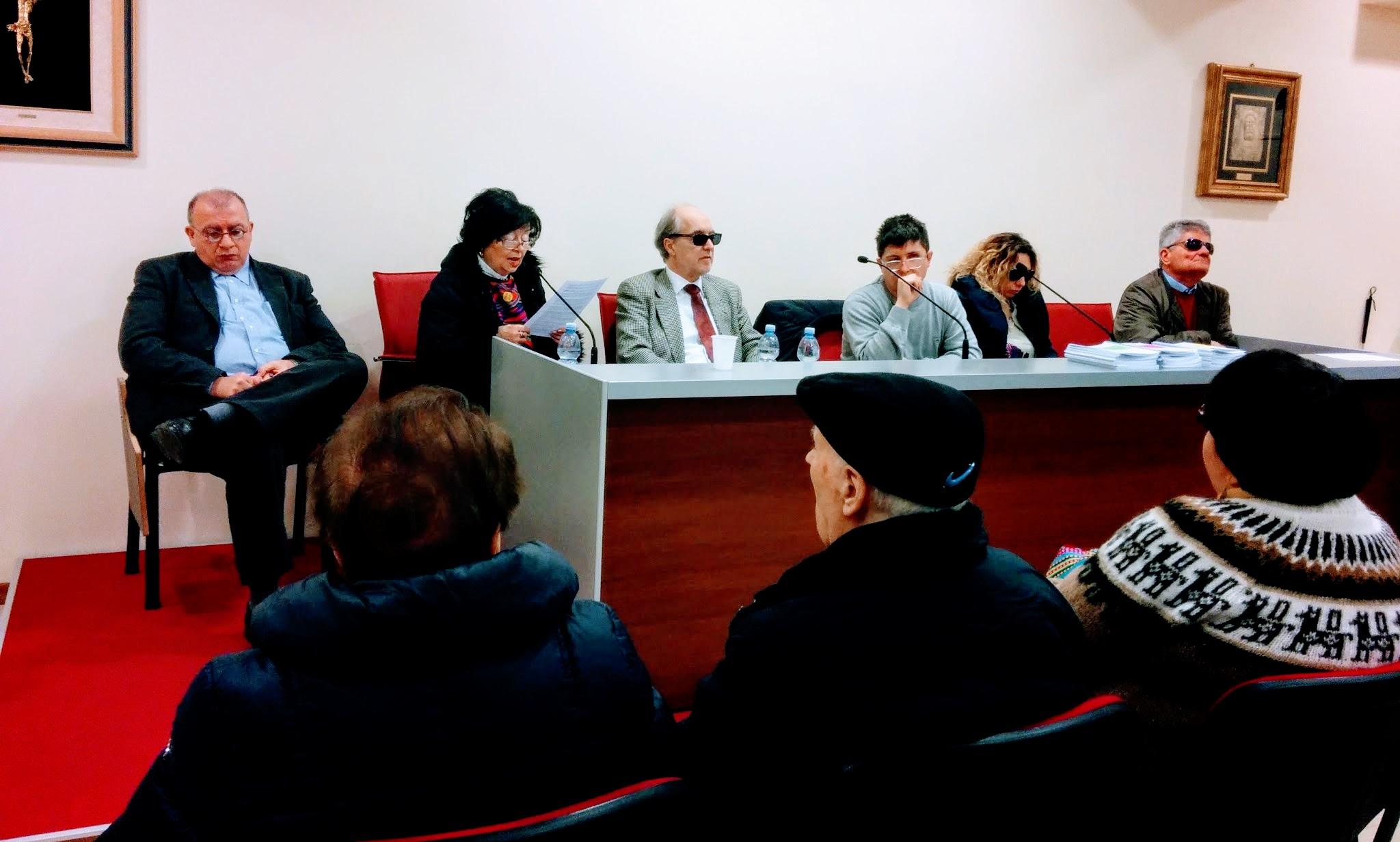 Un'immagine dell'assemblea UICI Macerata del 2015