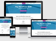 wp-sandbox - Un vero recinto di sabbia dove è possibile sperimentare WordPress